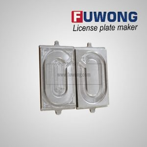 Fuwong number plate mold for boldey manual press