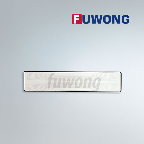 Reflective film aluminum license plate