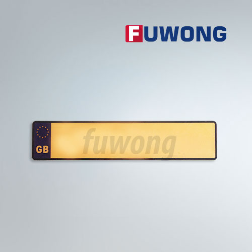 Great Britain license plate maker Fuwong