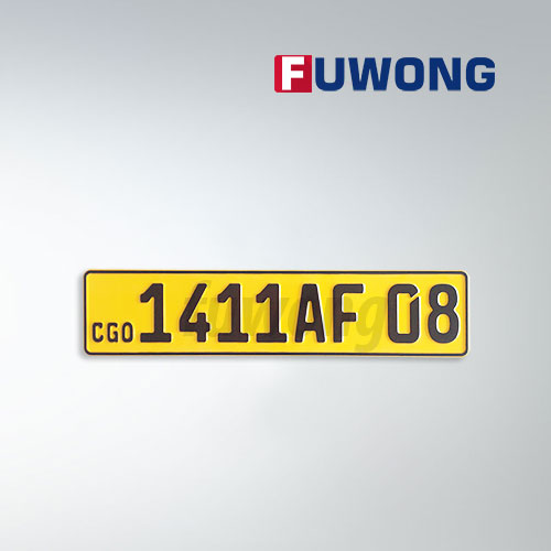 Fuwong CGO license plate