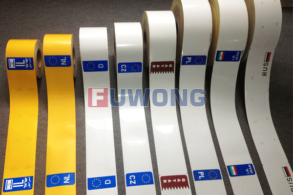 license plate reflective film sheeting