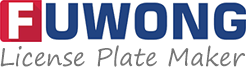 Fuwong license plate maker