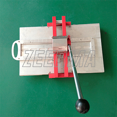 manual press embossing number plate