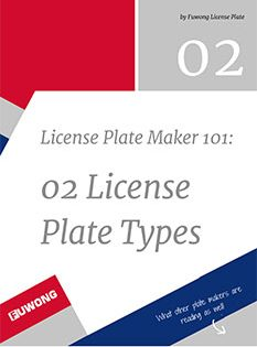 License Plate types