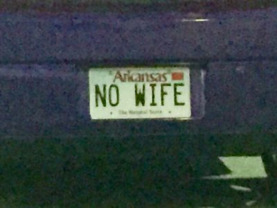 NO WIFE LICENSE