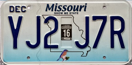Missouri plate design