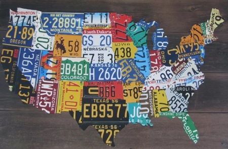 License Plate State Map.Ultimate Introduction Of American License Plates 50 Us State