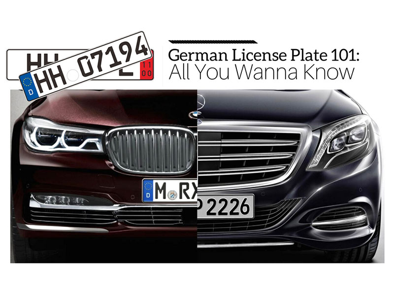 German license plate wiki